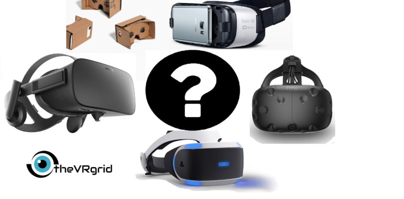 VR Headset Purchase Guide