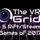David's Top 5 Rift/Steam VR Titles!